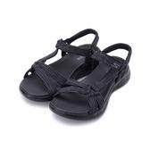 SKECHERS ON THE GO 600 健走涼鞋 黑 15319BKGY 女鞋