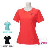 ASICS亞瑟士 女短袖T恤 (桃紅) 抗紫外線 142607-0688【 胖媛的店 】