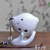 陶笛6孔陶笛AC裂紋親嘴魚專利款初學推薦專用多色選擇初學笛  蓓娜衣都