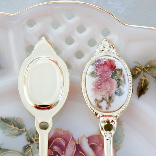 日本【黃金玫瑰 Gold Rose】茶匙