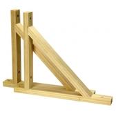 綠緻松木三角托架22公分
