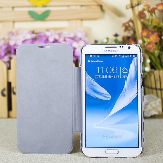 【福利出清】三星 Samsung Note2 N7100 NUOKU豹紋側掀保護套/書本式翻頁/硬殼/NoteII