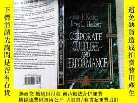 二手書博民逛書店Corporate罕見Culture and PerformanceY253683 Kotter, John
