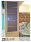 【系統家具】 主臥室衣櫃+玻璃展示櫃