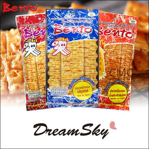 泰國 bento 超味魷魚片5g 甜味 麻辣 蒜香 泰式香鱿片 Dreamsky