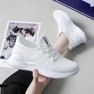 運動鞋女學生春夏新款女鞋韓版潮跑步小白鞋透氣網鞋