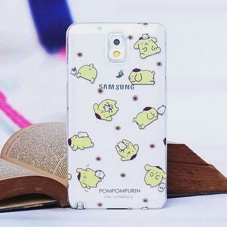 note3 免運 iphone5s/4S保護套note3卡通透明殼硬殼(任選二個$900)