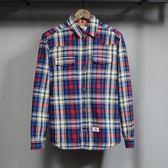 長袖襯衫-休閒隨興質感品味男加絨上衣2色72am25【巴黎精品】