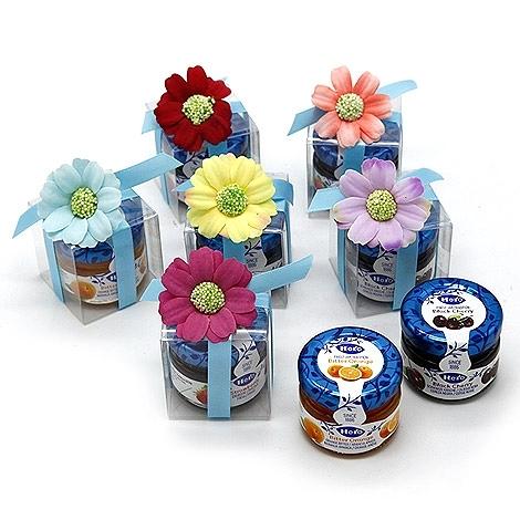 幸福婚禮小物「甜蜜精緻果醬組---1組10入」 迎賓禮/探房禮/送客禮/果醬