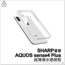 SHARP AQUOS sense4 plus 超薄清水透明殼 保護殼 手機殼 保護套 防摔殼