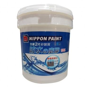 立邦 全新2代 矽酸質防水底膠 4KG 白色