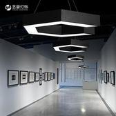 led吊燈 現代簡約辦公室燈 個性藝術吧台工業風網咖loft工程燈具 英雄聯盟 igo