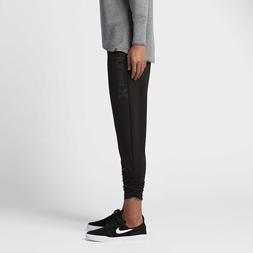 Hurley DRI-FIT JOGGER DRI-FIT刷毛布休閒長褲-女(黑)