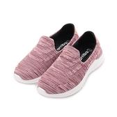 ARRIBA 套式飛織休閒鞋 粉 女鞋 鞋全家福
