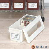 cd收納盒 家用dvd收納碟片光盤盒整理收納箱【淘夢屋】