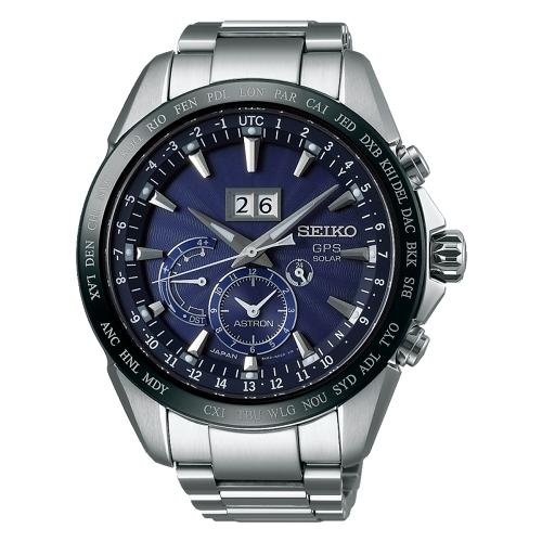 SEIKO ASTRON GPS未來極限不銹鋼太陽能腕錶/8X42-0AC0B/SSE147J1