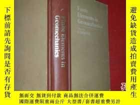 二手書博民逛書店土質力學中的有限罕見法 精裝的570頁 finite eleme
