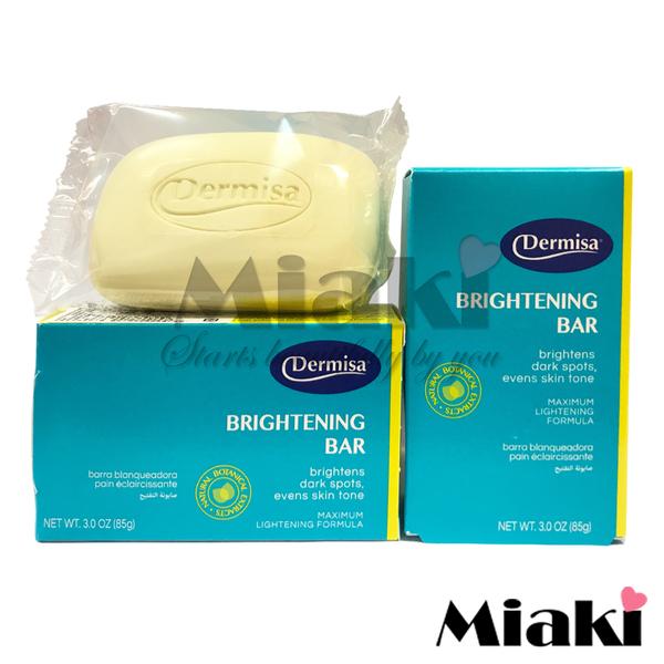 美國Dermisa淡斑嫩白皂 85g*8顆 *Miaki* 2017年最新版包裝