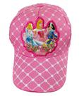 【卡漫城】 迪士尼公主 兒童帽 帽子 粉紅 灰姑娘白雪公主睡美人 遮陽帽網球帽棒球帽鴨舌帽 女童