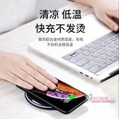 車載無線充電器 蘋果XS無線充電器iphone手機快充X專用8plus8p小米9安卓通用 4色