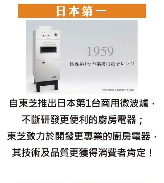 TOSHIBA東芝 20L 11段火力800W微電腦微波爐 ER-SS20(W)TW