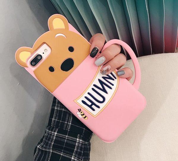 【SZ24】iPhone 7/8 手機殼 韓國卡通維尼水杯造型軟殼 iPhone7/8 plus手機殼 iPhone6s plus手機殼