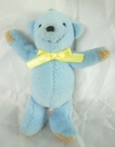 【震撼精品百貨】日本泰迪熊~鎖圈『淺藍』