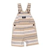 OSHKOSH 吊帶短褲 卡其橫條 | 男寶寶吊帶褲(嬰幼兒/小孩/baby)
