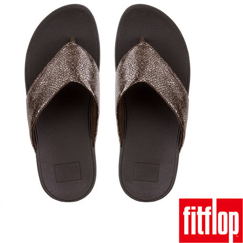 【FitFlop TM】SWOOP TM TOE-THONG(巧克力色)