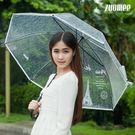 創意大傘成人男女環保傘透明雨傘加厚小清新長柄透明傘BLNZ 免運快速出貨