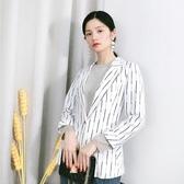 品牌折扣2020春季明線職場女短款西裝外套 阿卡娜
