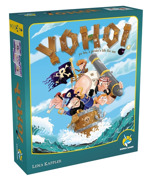 【KANGA GAMES】海賊聯盟Yo Ho! 家庭益智派對桌上遊戲