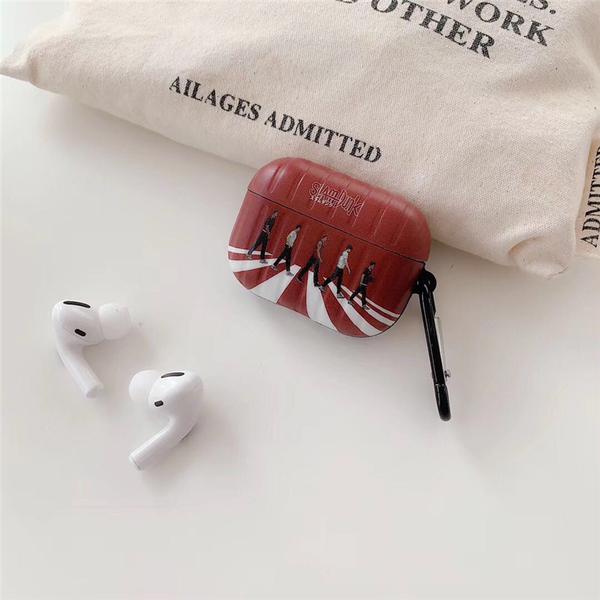 Airpods Pro 專用 1/2代 台灣發貨 [ 灌籃高手過馬路 ] 藍芽耳機保護套 蘋果無線耳機保護