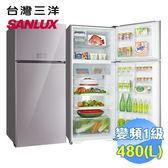 台灣三洋 SANLUX 480公升雙門變頻冰箱 SR-C480BVG