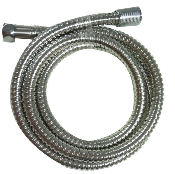 伸縮活動型不銹鋼蓮蓬頭軟管150-195CM