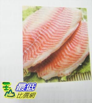 [COSCO代購] 需低溫配送無法超取 YS 冷凍鲷魚片 FROZEN SLICED TILAPIA  2.5公斤(KG)_C60076