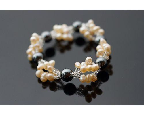 赤鐵礦(有磁)&粉橘色珍珠手錬&獨家回饋方案 488元 & 喨喨的嚴格品質挑選。