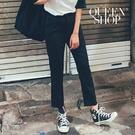 Queen Shop【04030243】百搭素色顯瘦西裝長褲 S/M/L/XL*現+預*