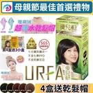 (4盒特價組) URFA優兒髮泡泡染髮劑 (5色混搭任選) 護髮染髮乳 護髮染