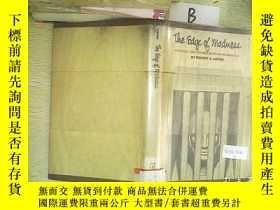 二手書博民逛書店the罕見edgs of madness 瘋狂的漩渦(A03)Y