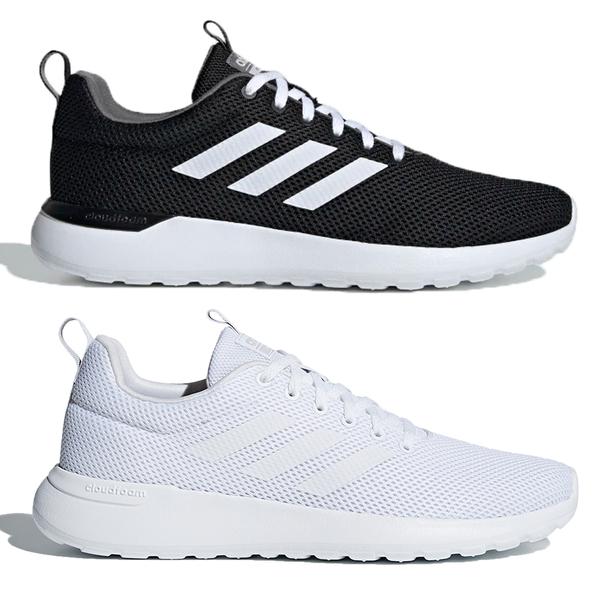 【現貨】Adidas LITE RACER CLN 男鞋 慢跑 休閒 輕量 透氣 黑/白【運動世界】EE8138 / B96568