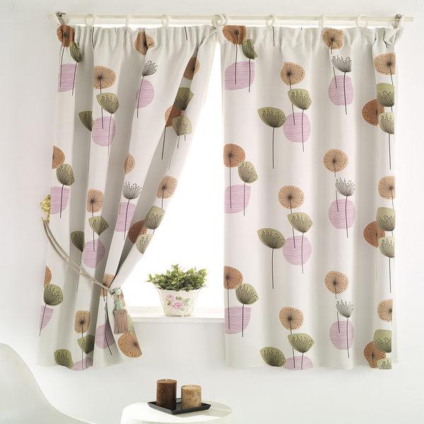【巴芙洛】花之頌遮光窗簾-200x165cm