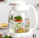冷水壺大容量玻璃耐高溫涼白開水杯茶壺套裝...