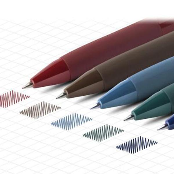 【BlueCat】INK復古色速乾按壓中性筆 (0.5mm)