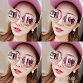 墨鏡女韓版潮復古2019新款防紫外線gm偏光網紅眼鏡街拍太陽鏡ins 蓓娜衣都