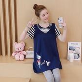 85折孕婦裝上衣2018韓版大碼中長款夏季短袖T恤99購物節