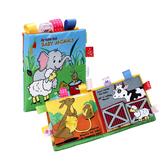 布書 大象綿羊撕不破早教書立體書-321寶貝屋