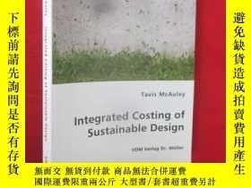 二手書博民逛書店Integrated罕見Costing of Sustainab
