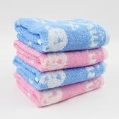 【愛的世界】純棉無捻紗小方巾25x25cm/6入 ★用品推薦