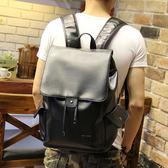 束口後背包 男雙肩包 可放14吋筆電【非凡上品】x1234